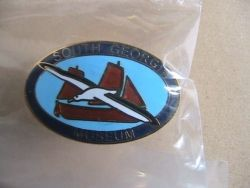 South Georgia Museum lapel badge