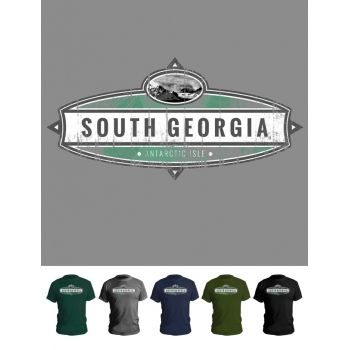 South Georgia plaque t-shirt